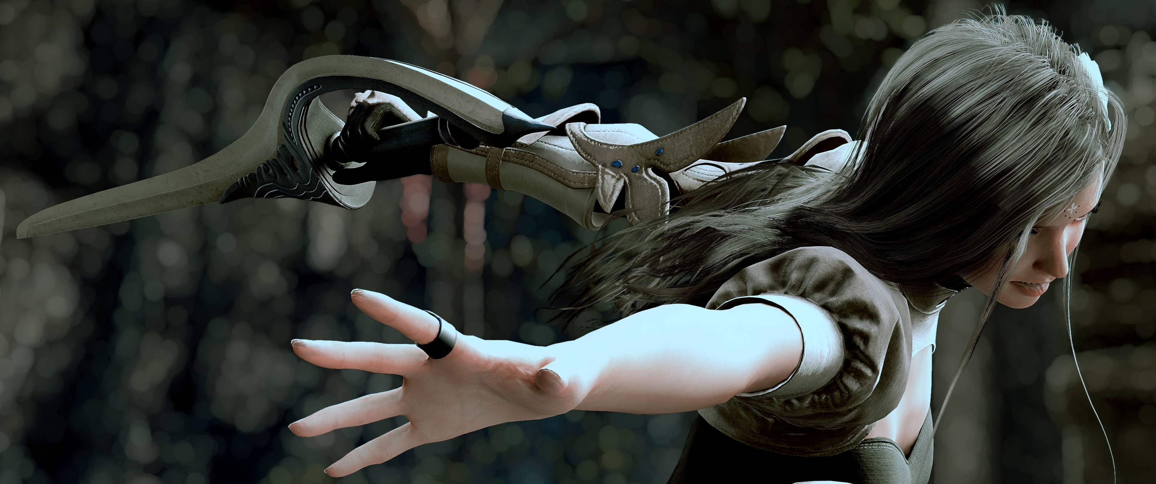 Final Fantasy 15 Windows Edition скриншот с NVIDIA Ansel - Final Fantasy 15