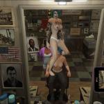Grand Theft Auto 5 Тити в барбершопе