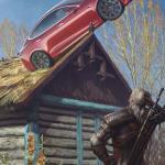 Witcher 3: Wild Hunt Геральт и Тесла