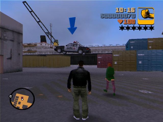 Мисти - Grand Theft Auto 3