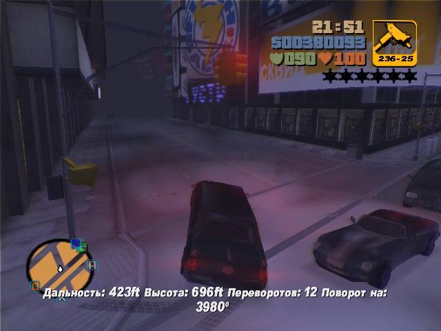 12 переворотов - Grand Theft Auto 3