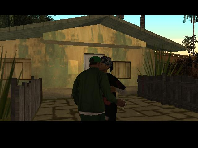 Разные фото из GTA San Andreas. - Grand Theft Auto: San Andreas Начало свидания