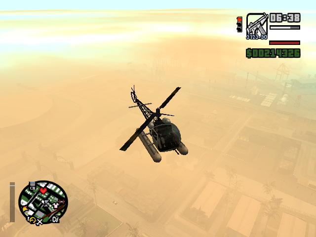 Разные фото из GTA San Andreas. - Grand Theft Auto: San Andreas Набираем высоту