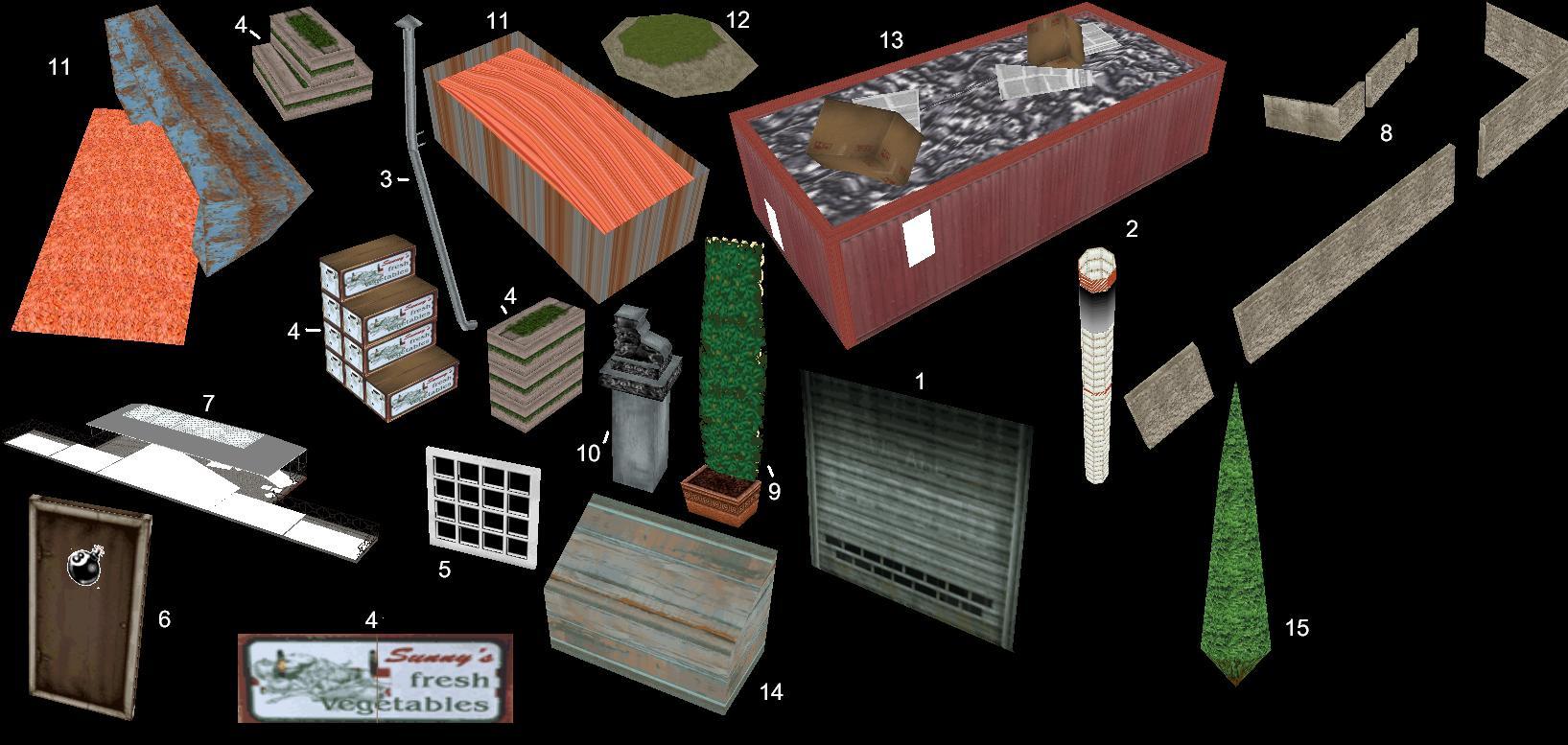 объекты в архиве релиза1 - Grand Theft Auto 3
