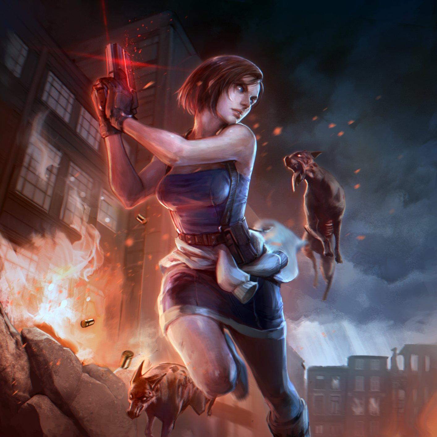 wXboDzOvpz4.jpg - Resident Evil 3: Nemesis Джилл Валентайн