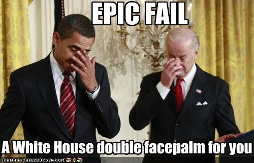 White House Double Facepalm - -