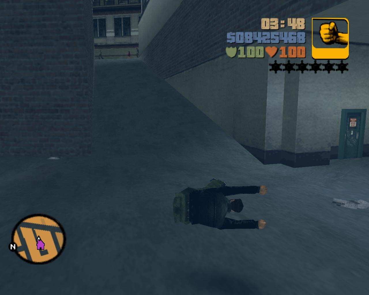 Анимация - Grand Theft Auto 3