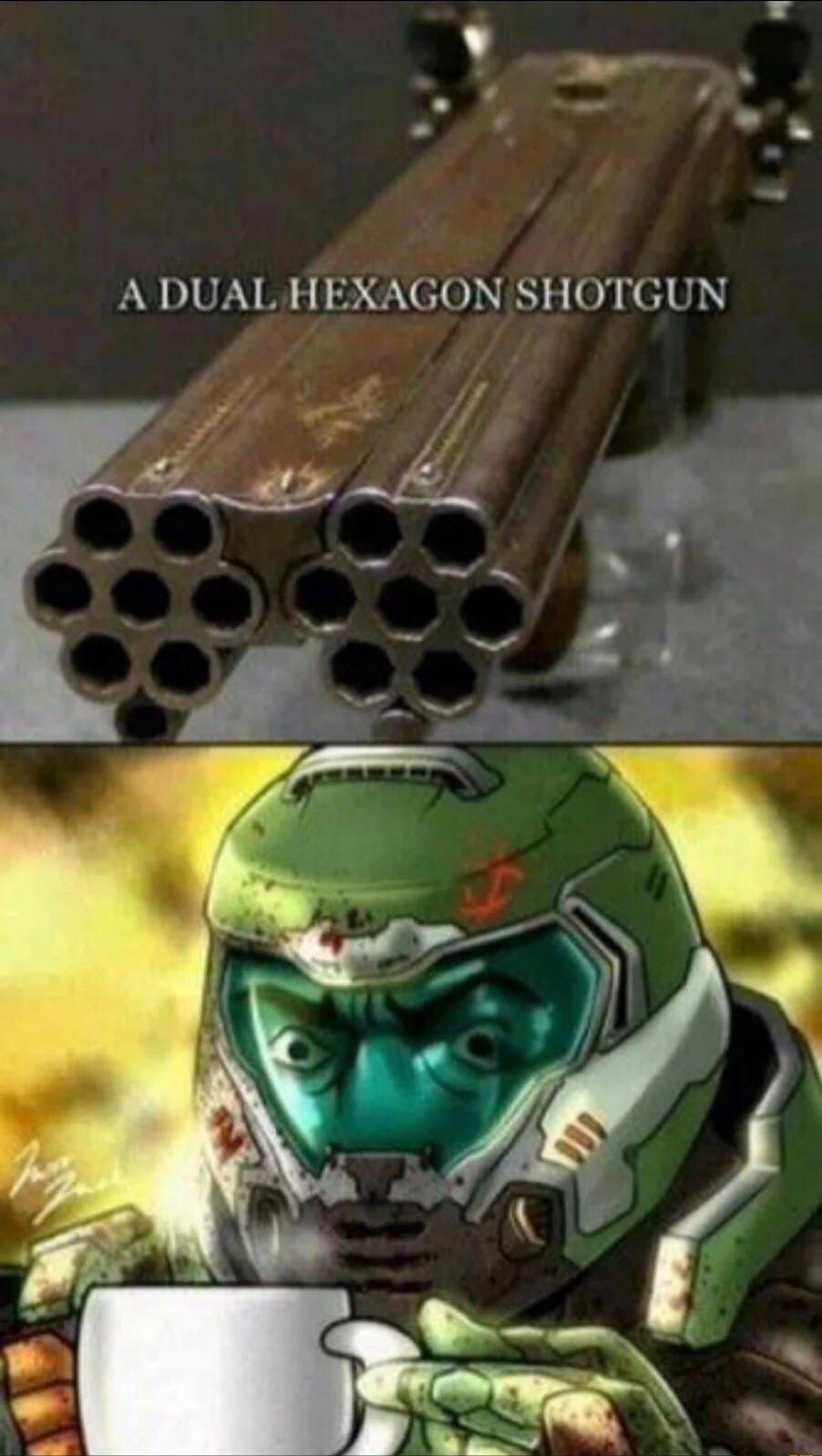 Четырнадцатистволка, лол!! - Doom Eternal