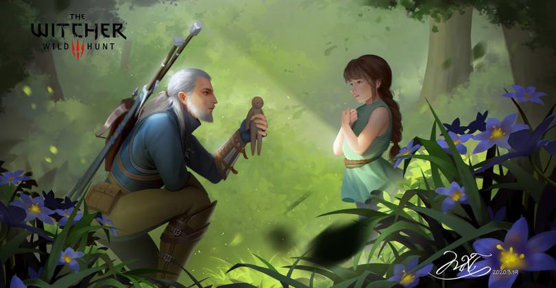 The-Witcher-фэндомы-Геральт-Witcher-Персонажи-5792937.jpeg - The Witcher 3: Wild Hunt