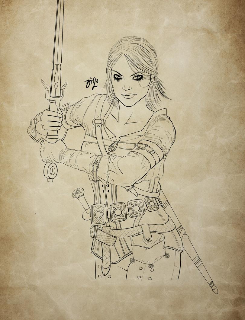 The-Witcher-фэндомы-Цири-Witcher-Персонажи-5792932.jpeg - The Witcher 3: Wild Hunt