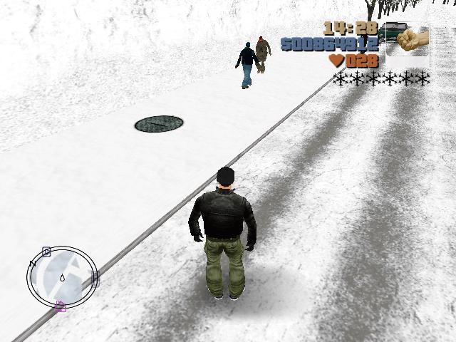 тратуары - Grand Theft Auto 3