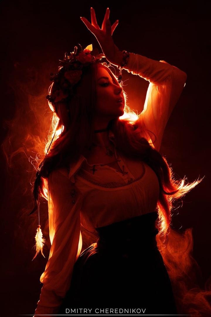 По-настоящему славянская Трисс - The Witcher 3: Wild Hunt