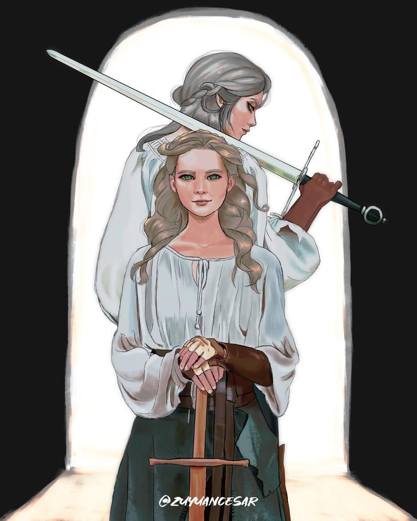 The-Witcher-фэндомы-Цири-Witcher-Персонажи-5799180.jpeg - The Witcher 3: Wild Hunt