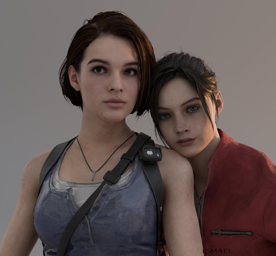 Джилл и Клэр - Resident Evil 3: Nemesis