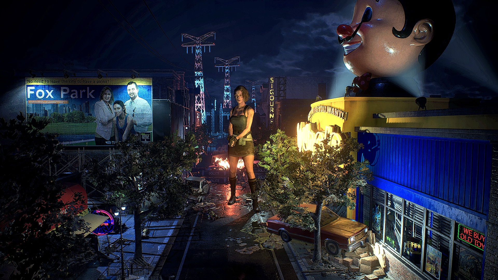 demo_2020-03-23.jpg - Resident Evil 3: Nemesis Джилл Валентайн
