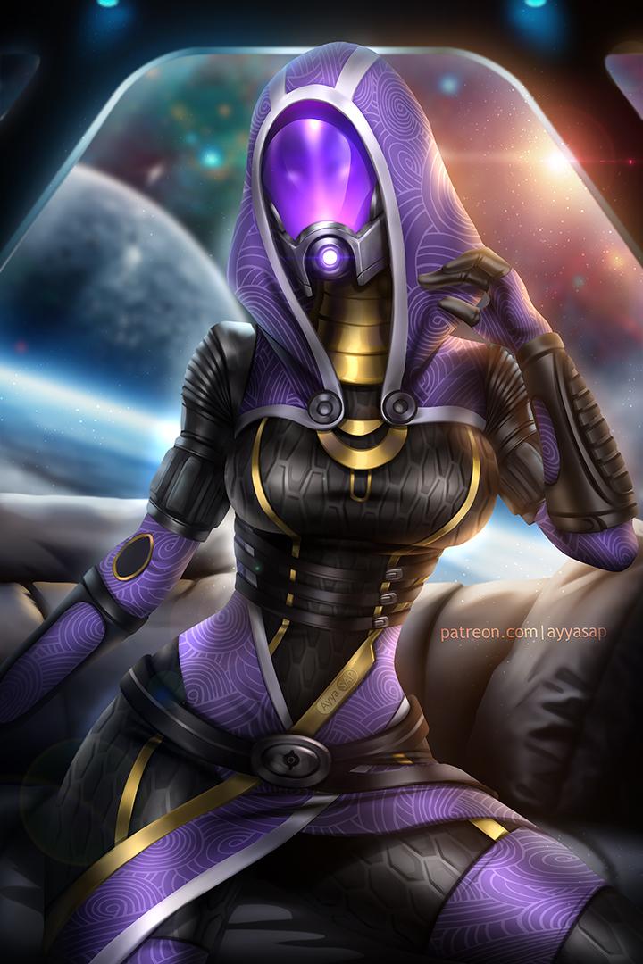 AyyaSAP-artist-Tali'Zorah-ME-персонажи-5787070.jpeg - Mass Effect 2