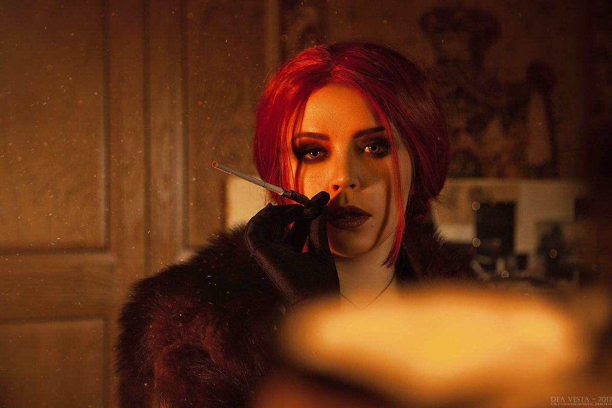 Нуарная роковая красотка Трисс - The Witcher 3: Wild Hunt