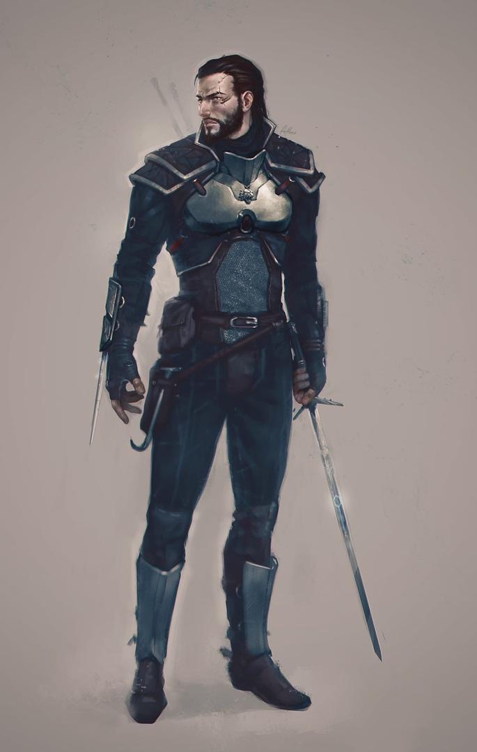 Адам из Дженсии или ведьмак, который никогда не просил о мутации - The Witcher 3: Wild Hunt