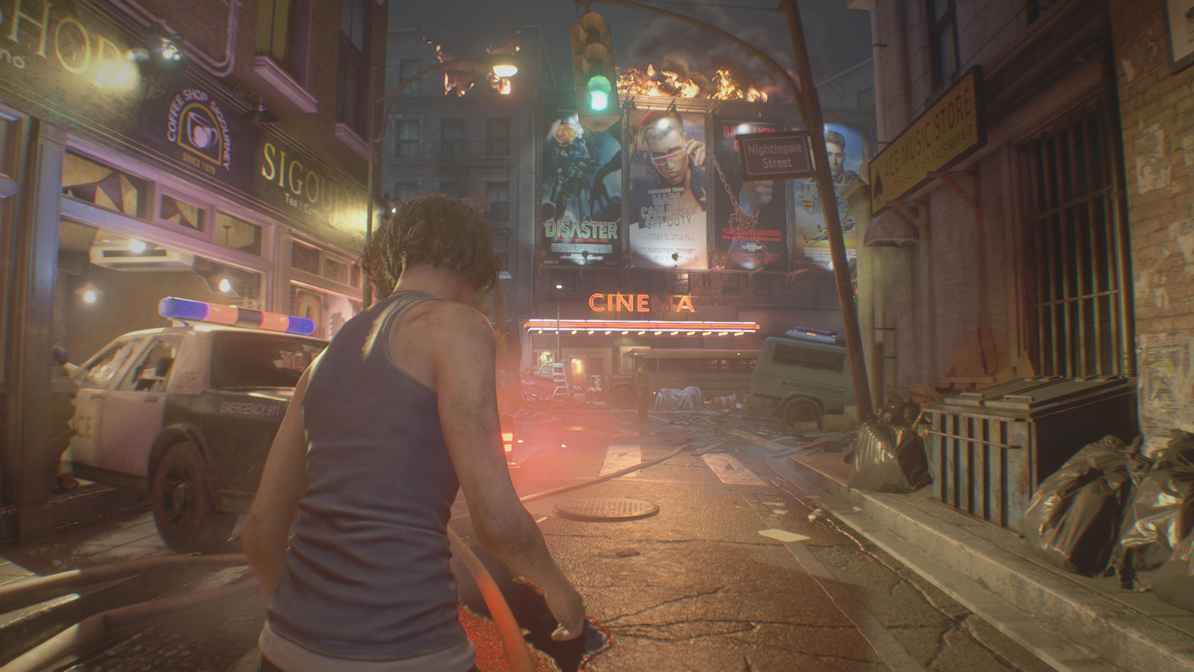 Resident Evil 3: Remake скриншот 4k ультра Nvidia GeForce RTX 2080 - Resident Evil 3: Nemesis