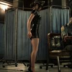 Resident Evil 2 Клэр в кожаном мини платье