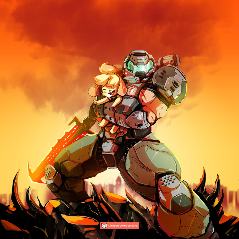 Doom-Eternal-Doom-(игра)-Игры-Animal-Crossing-5835715.jpeg - Doom Eternal