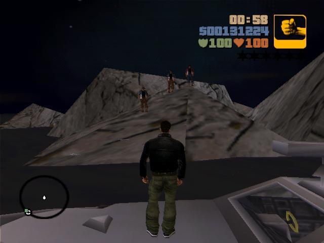 колумбийцы на острове - Grand Theft Auto 3