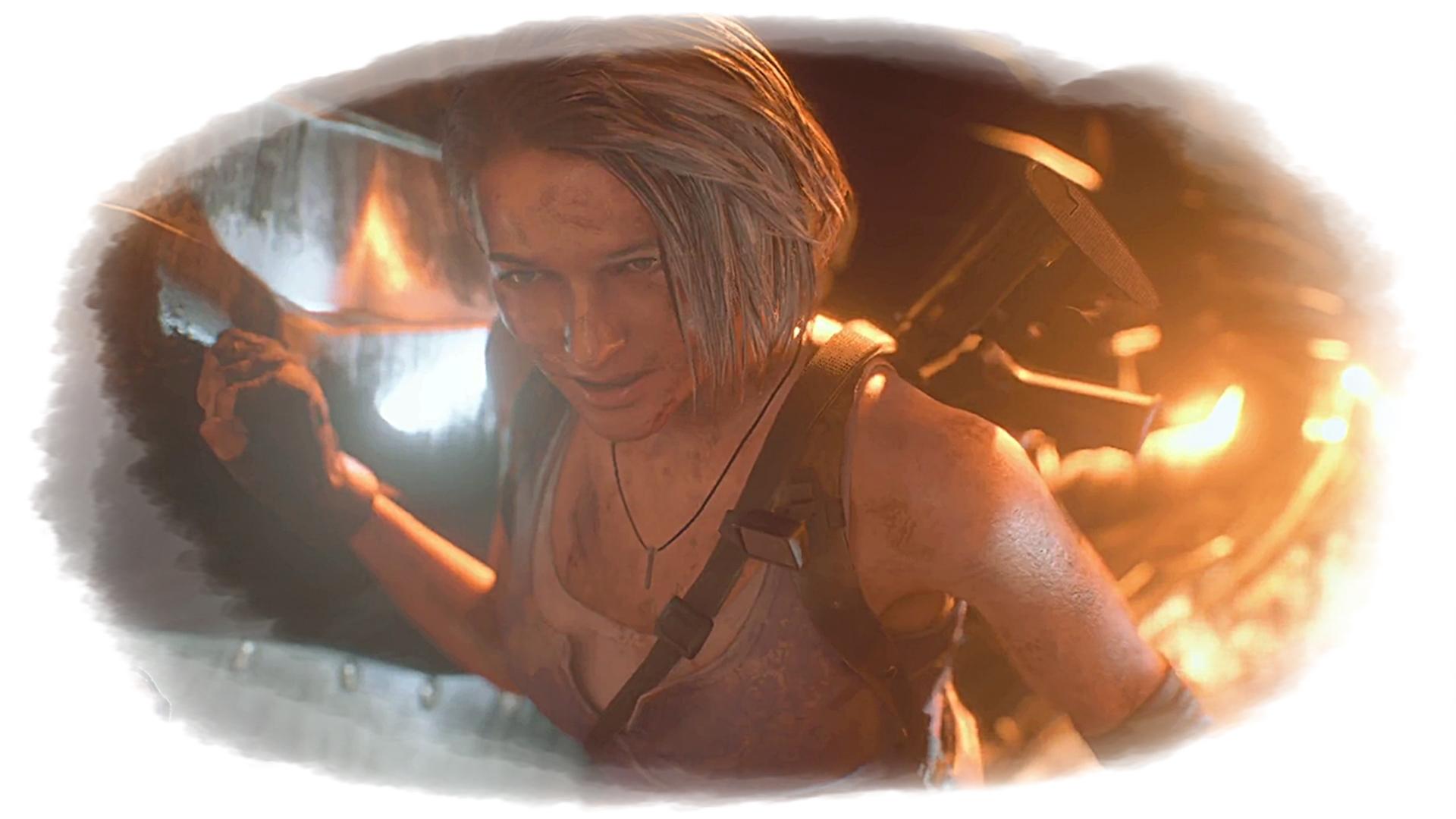 Resident Evil 3 Remake Джилл Валентайн арт - Resident Evil 3: Nemesis