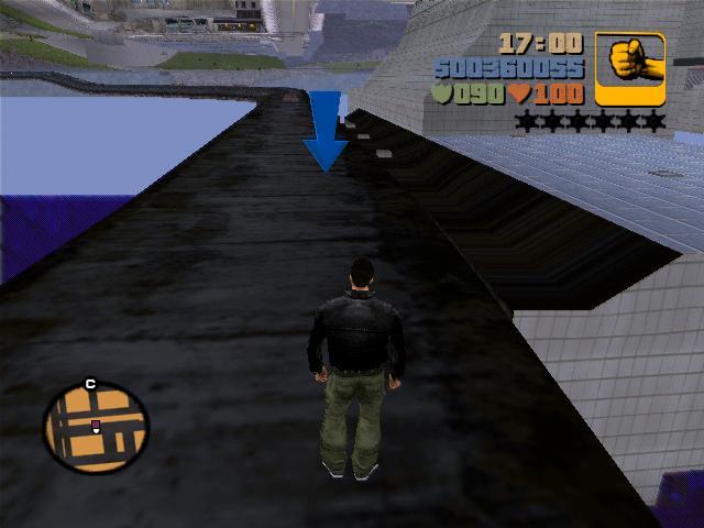 поезд 4 - Grand Theft Auto 3