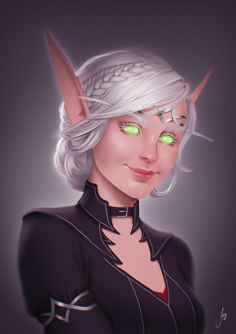 June-Jenssen-artist-Blood-elf-Warcraft-Расы-5943745.jpeg - World of Warcraft