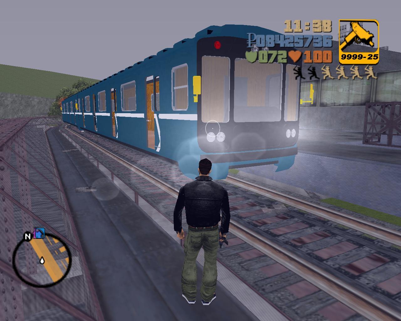 Вагон типа 81-717 4 - Grand Theft Auto 3 Мухосранск
