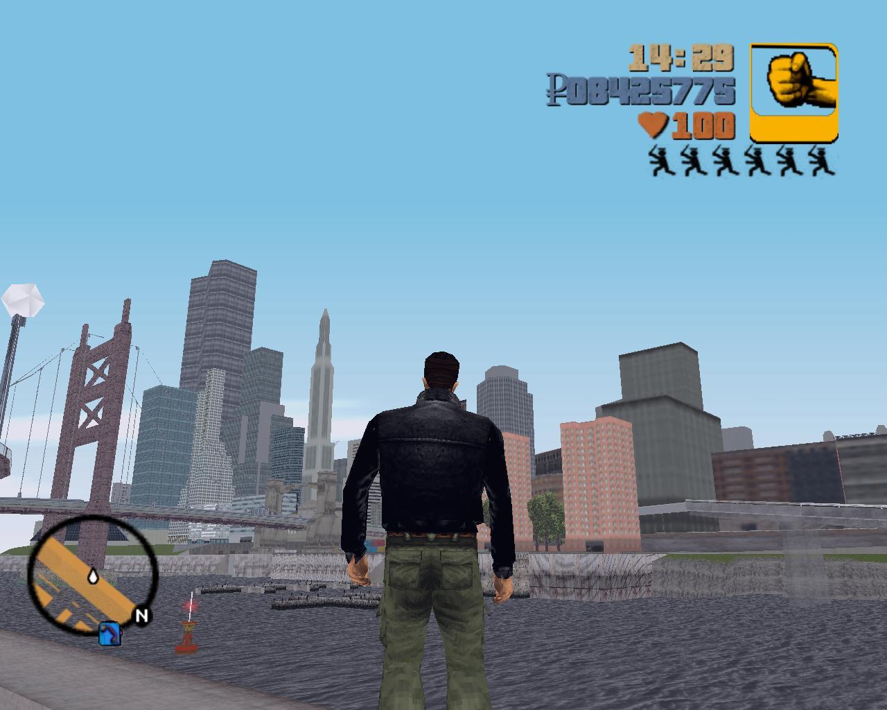 Новая солнечная погода - Grand Theft Auto 3 Мухосранск