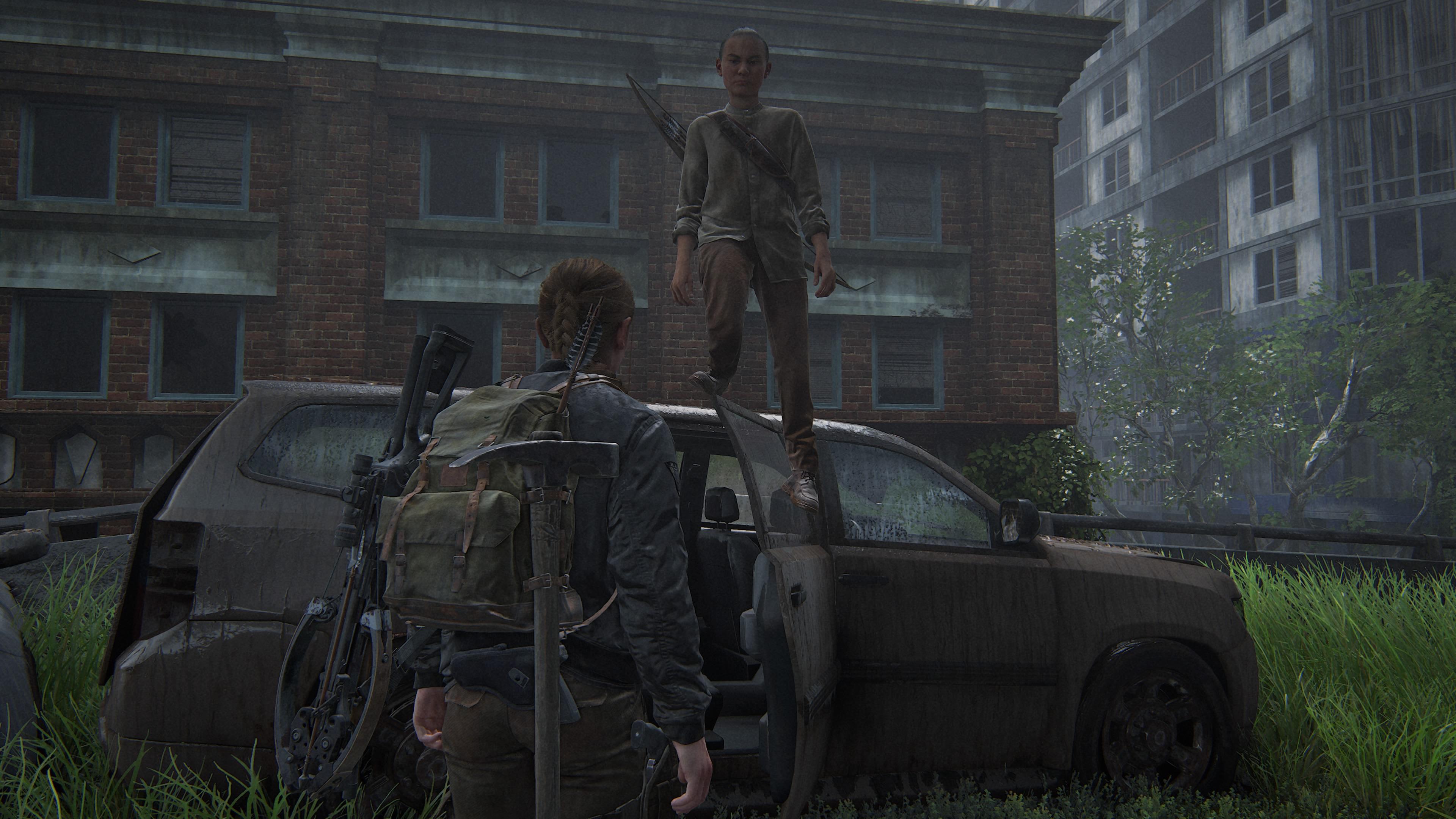 Куда полез? - The Last of Us: Part 2