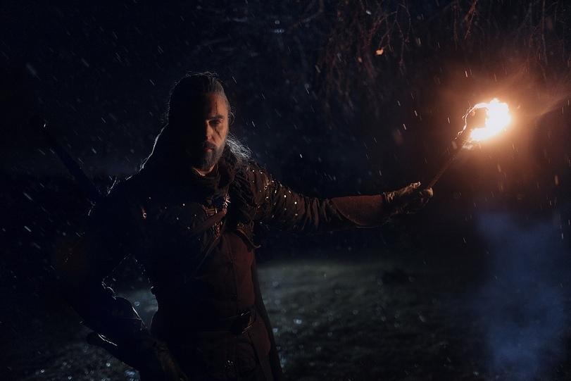 косплей Геральта - The Witcher 3: Wild Hunt