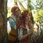 The Witcher 3: Wild Hunt Косплей Трисс и Шани