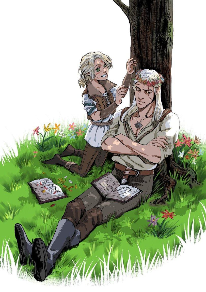 Aki4500199-Geralt-of-Rivia-Witcher-Персонажи-The-Witcher-6028222.jpeg - The Witcher 3: Wild Hunt