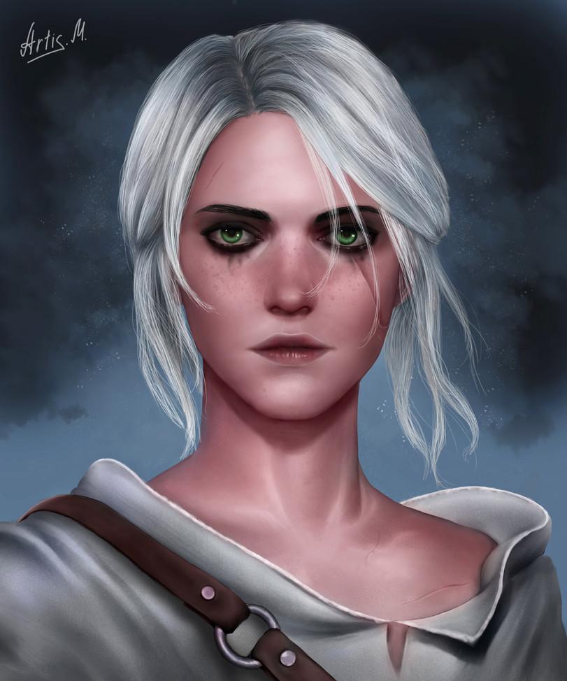 The-Witcher-фэндомы-Цири-Witcher-Персонажи-6027706.jpeg - The Witcher 3: Wild Hunt
