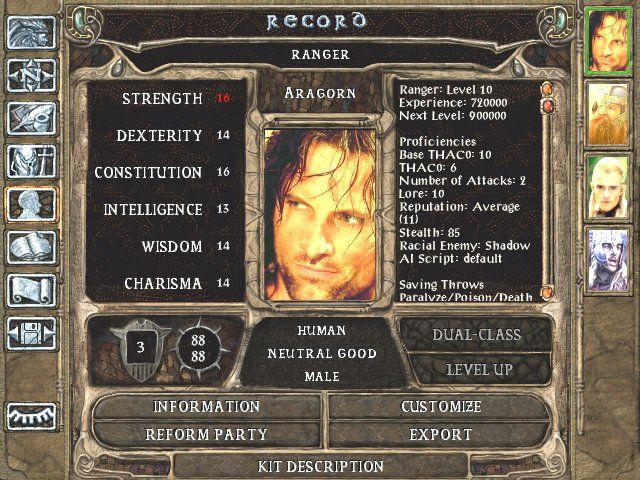 The Lord of the Rings The Two Towers 8 - Baldur's Gate 2: Shadows of Amn