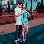 The Sims 4 Клайв Максвелл и Блейкли Бенедикт
