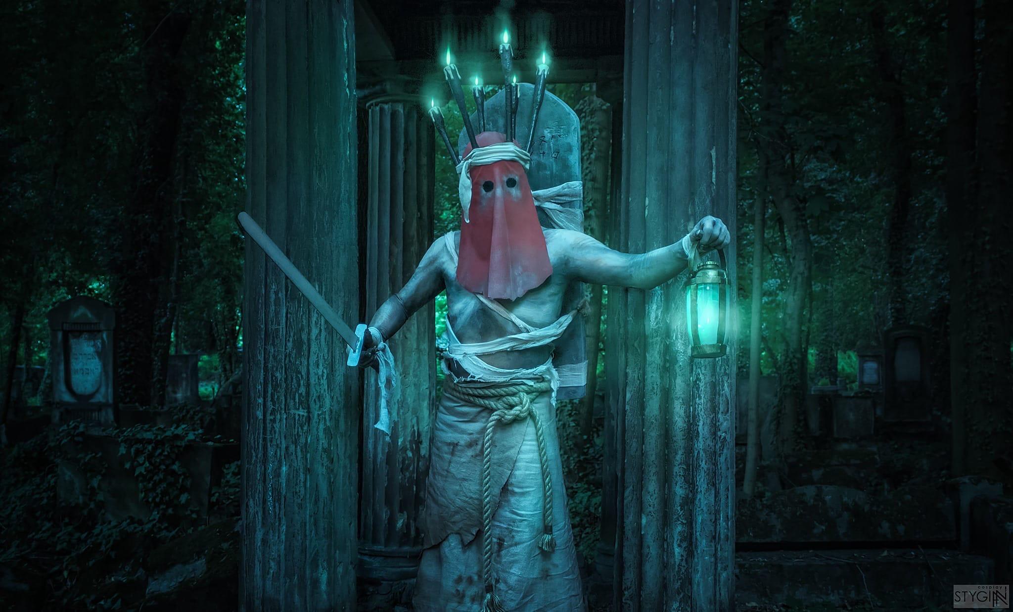 Косплей призрака - The Witcher 3: Wild Hunt