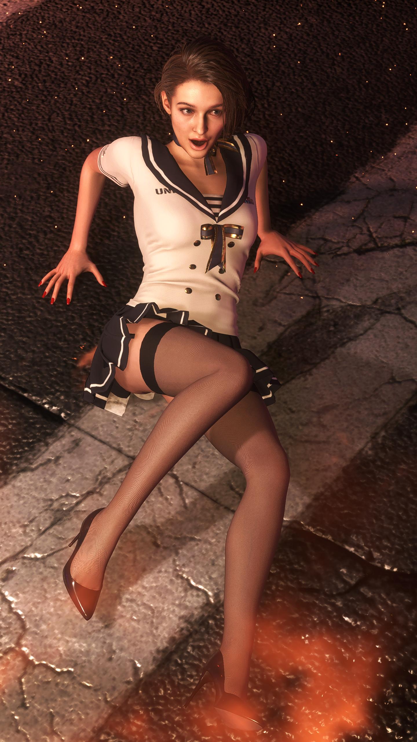 Очаровательная Джилл Валентайн - Resident Evil 3: Nemesis