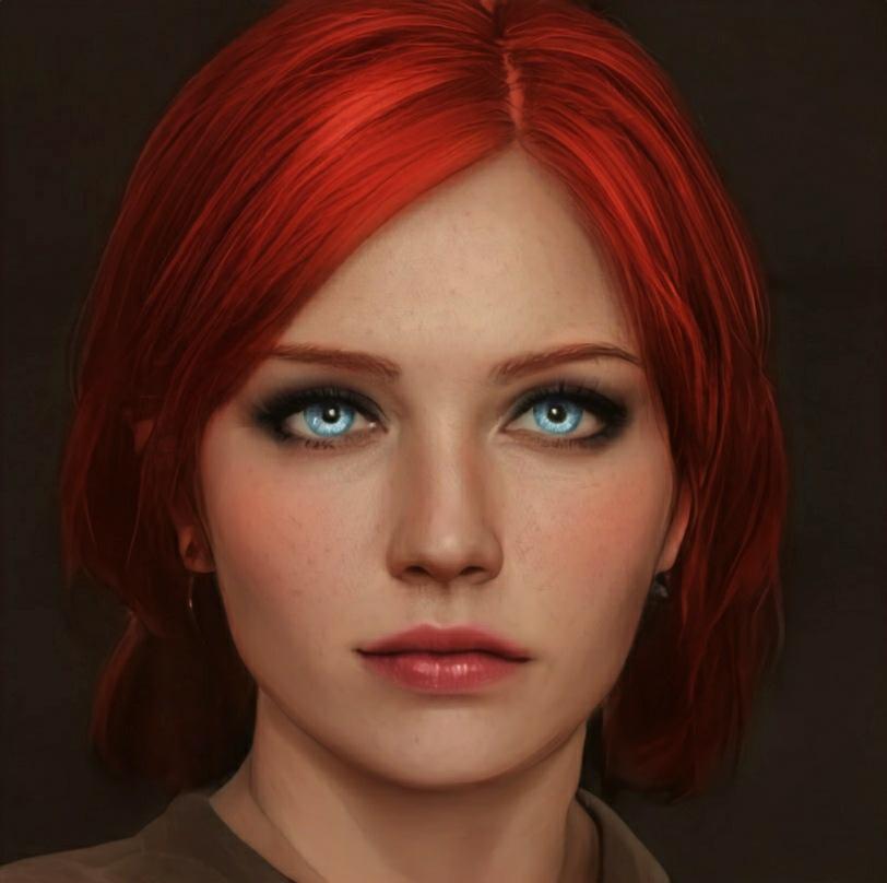 Рыжая чародейка - The Witcher 3: Wild Hunt Трисс Меригольд, фанарт