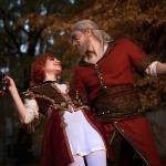 The Witcher 3: Wild Hunt Косплей на Шани и Геральта