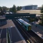 Train Sim World 2020 East Coastway: Brighton - Eastbourne & Seaford Route - Стадион на станции Falmer
