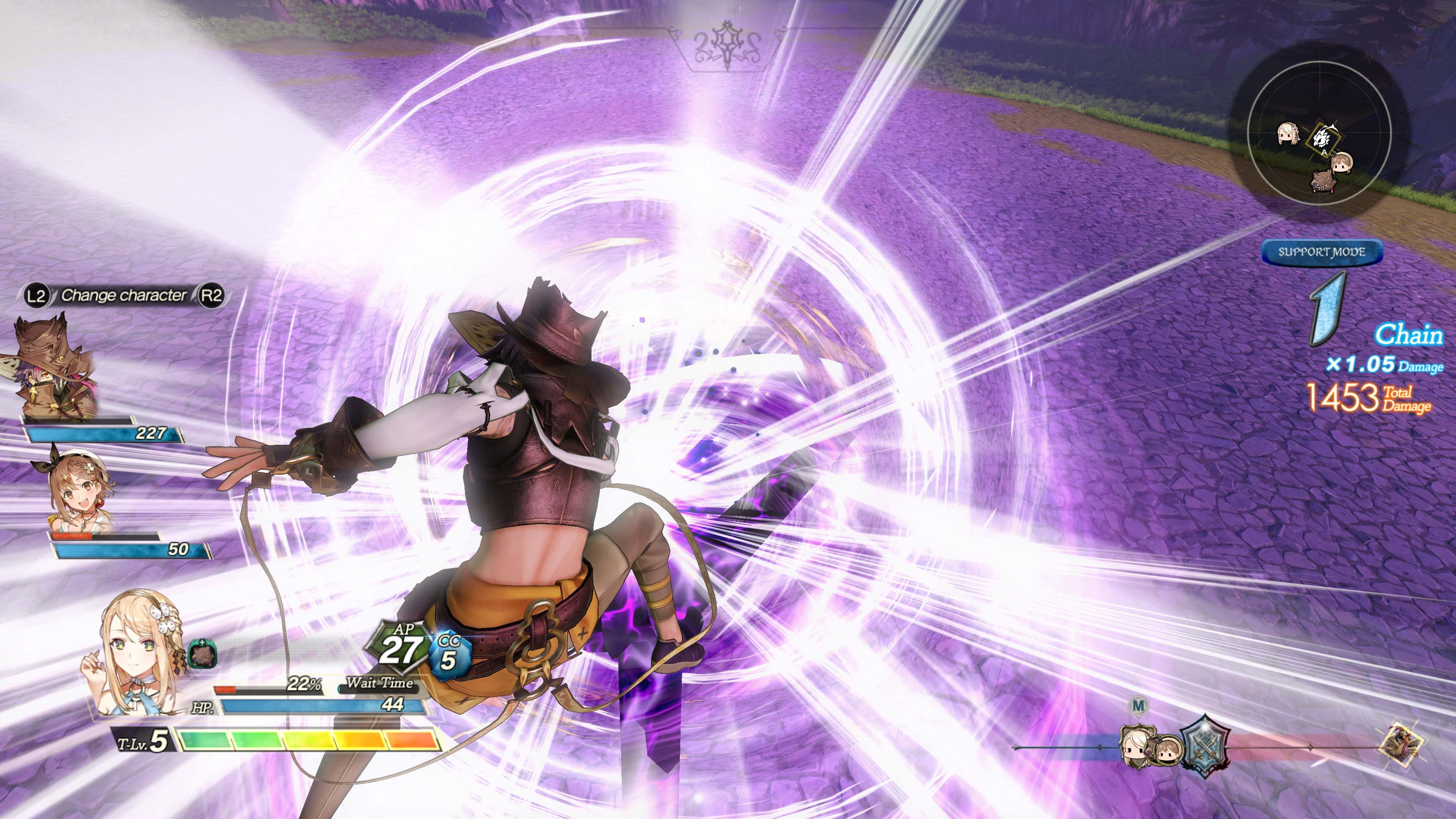 Геймплей [4K] - Atelier Ryza 2: Lost Legends & the Secret Fairy
