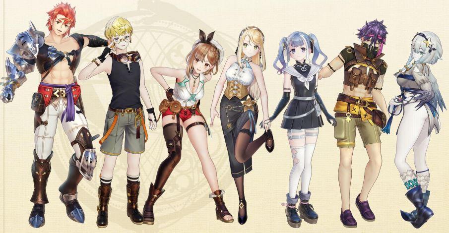 Персонажи - Atelier Ryza 2: Lost Legends & the Secret Fairy