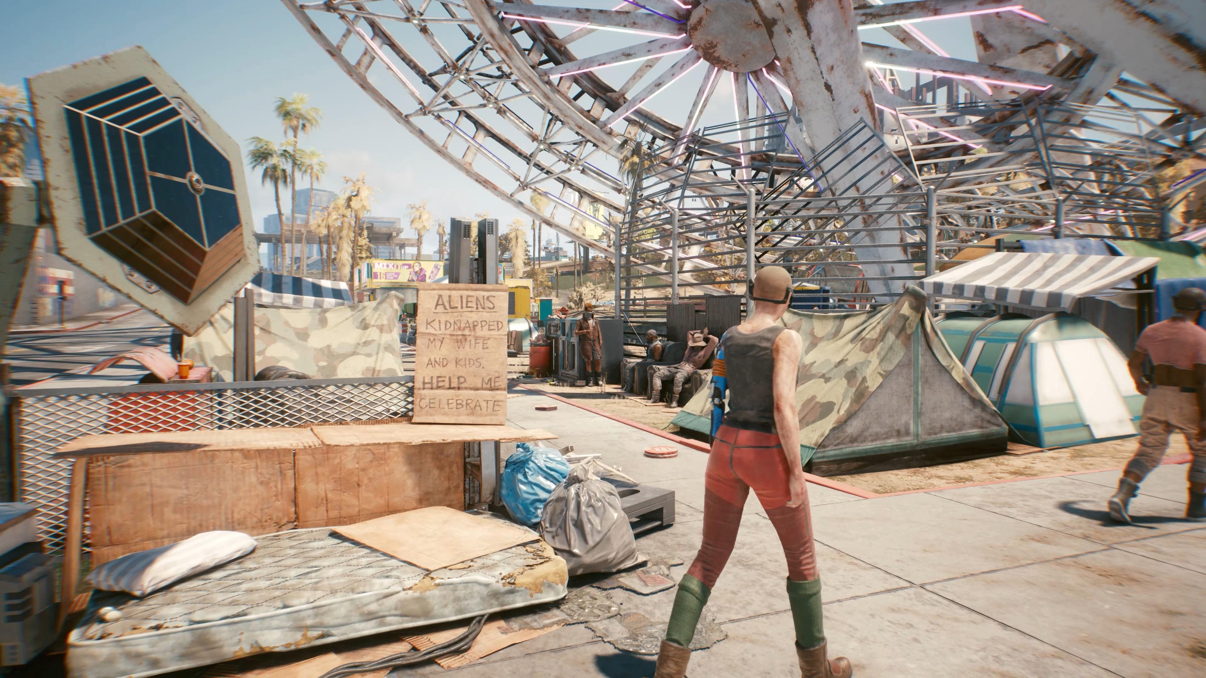 Найт-Сити - Cyberpunk 2077