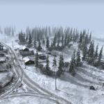 Gates of Hell Зимняя деревенская карта