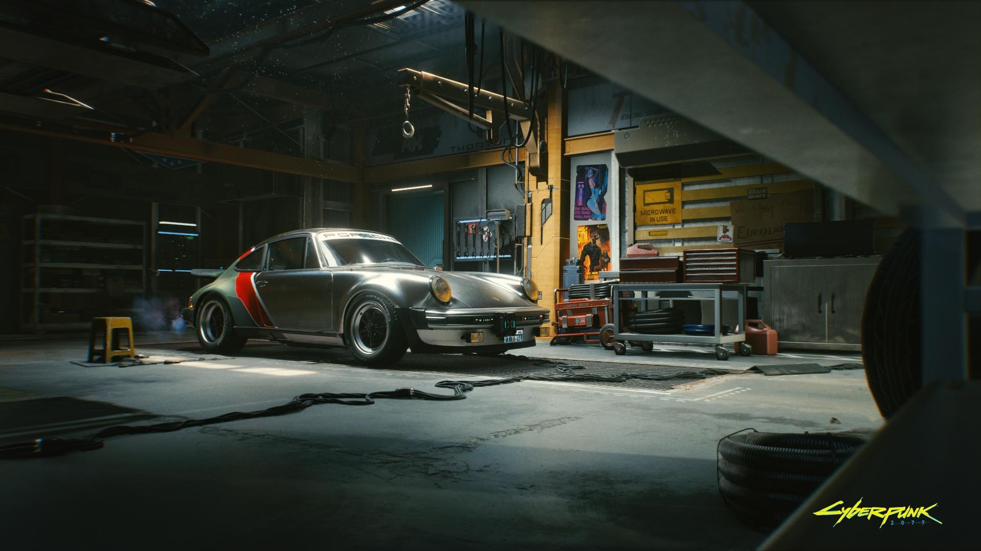 Johnny Silverhand's Porsche 911 Turbo - Cyberpunk 2077