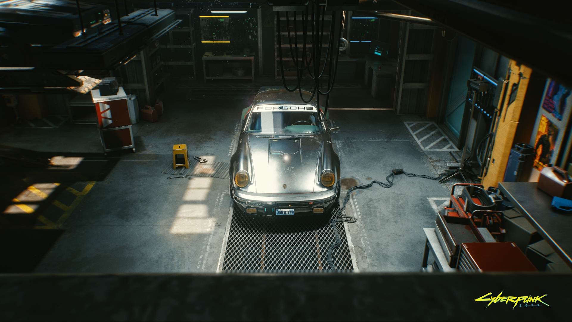 Johnny Silverhand's Porsche 911 Turbo - Cyberpunk 2077