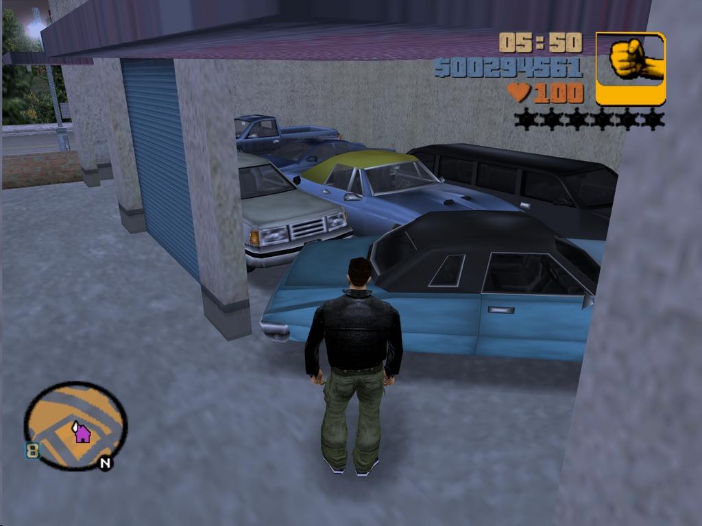 6 - Grand Theft Auto 3